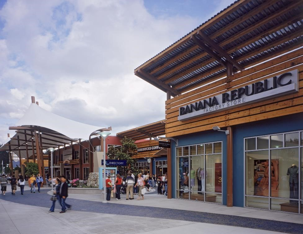 The new outlet shopping center opened in November in Prince George's County, MD just 8 miles from Downtown Washington DC, Tanger is the closest outlet center to the nation's capital.